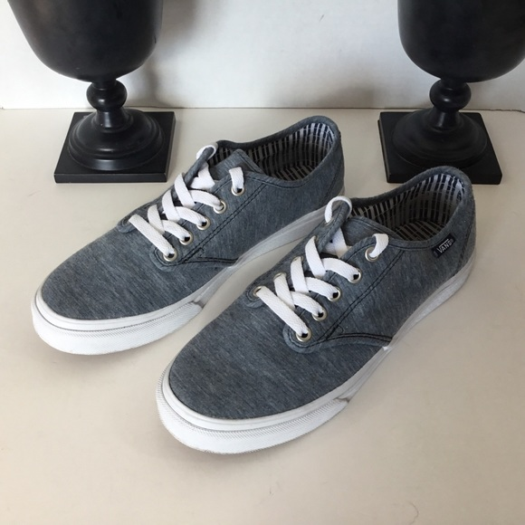"5e00c69201 Vans ""Off the Wall"" Grey Sneakers"